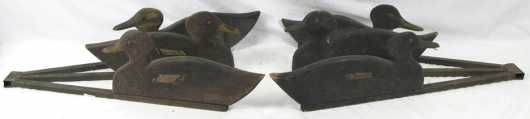 Pair of Vintage Folding Decoys by an unknown maker