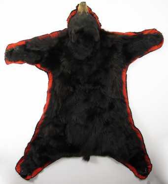 Maine Black Bear Rug