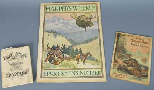 Lot of Three Vintage Sporting Publications