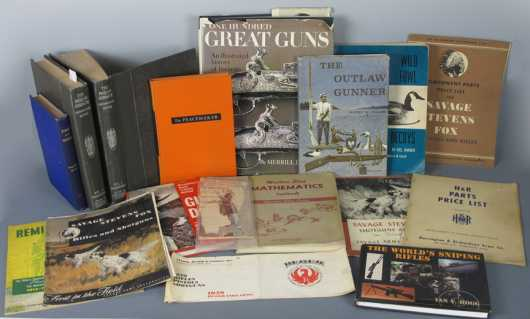 Box Lot of Sporting and Firearms Related Books