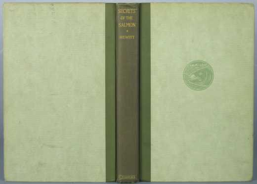 """First Edition, """"Secrets of The Salmon"""" by Edward Ringwood Hewitt"""