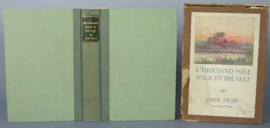 """First Edition, """"A Thousand-Mile Walk to the Gulf,"""" by John Muir"""