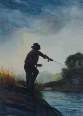 Watercolor,  Andrew Menna