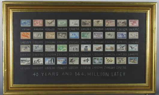 Duck Stamp Collection