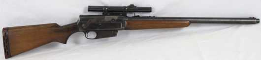 """Rifle, Remington Model 81 """"The Woodsmaster"""" with a 22"""" inch barrel"""