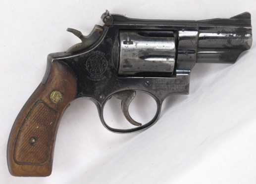 Smith and Wesson Model 19-3 Revolver