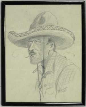 Drawing, Adolph Topperwein