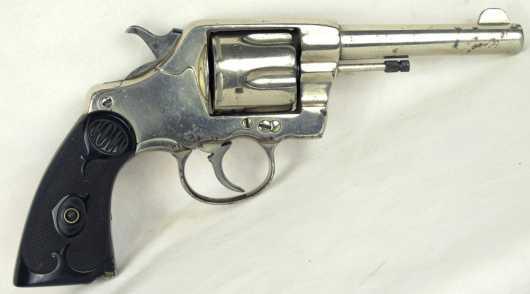 Nickel plated Colt Model 995/N