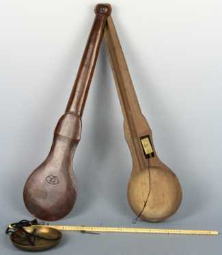 Chinese Ivory and Brass Scale