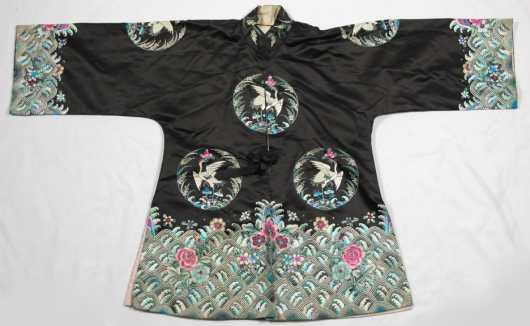 Chinese Needlework Silk Jacket