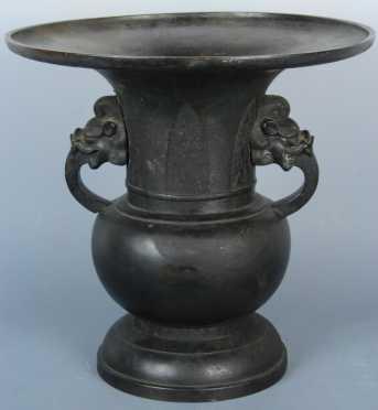 Chinese Bronze Urn