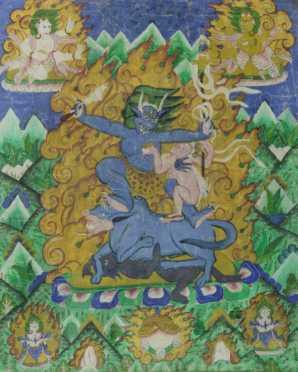Tibetan Thangkas Painting