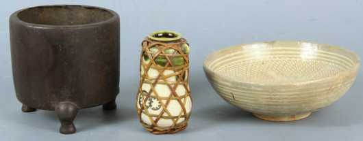 Lot Of Three Asian Pieces