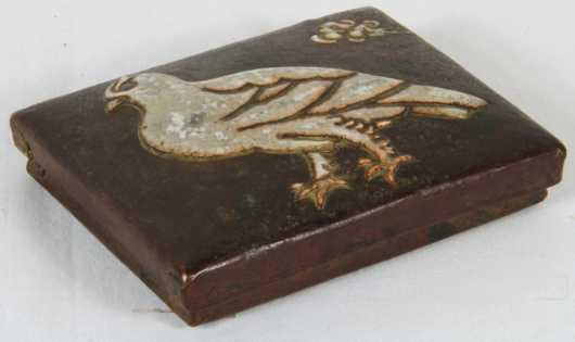 Japanese Enamel and Copper Covered Box