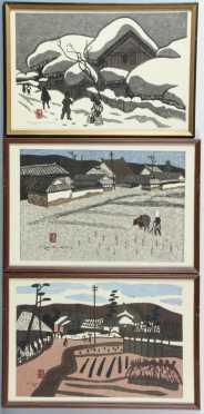 Kiyoshi Saito, Japanese block prints
