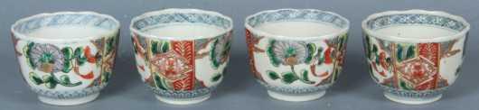 Lot of 4 Imari Cups