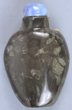 Dark Jade Snuff Bottle
