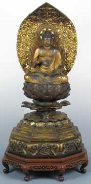 Impressive 18th Century Japanese Buddha