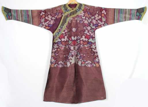 Chinese Robe decorated with dragons and clouds