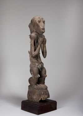 A Baule Monkey fetish figure