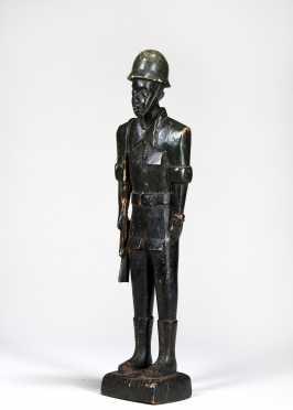A Yoruba colonial figure
