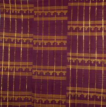 A Fine Nigerian strip-woven textile