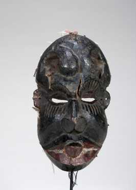 A powerful Igbo deformity mask