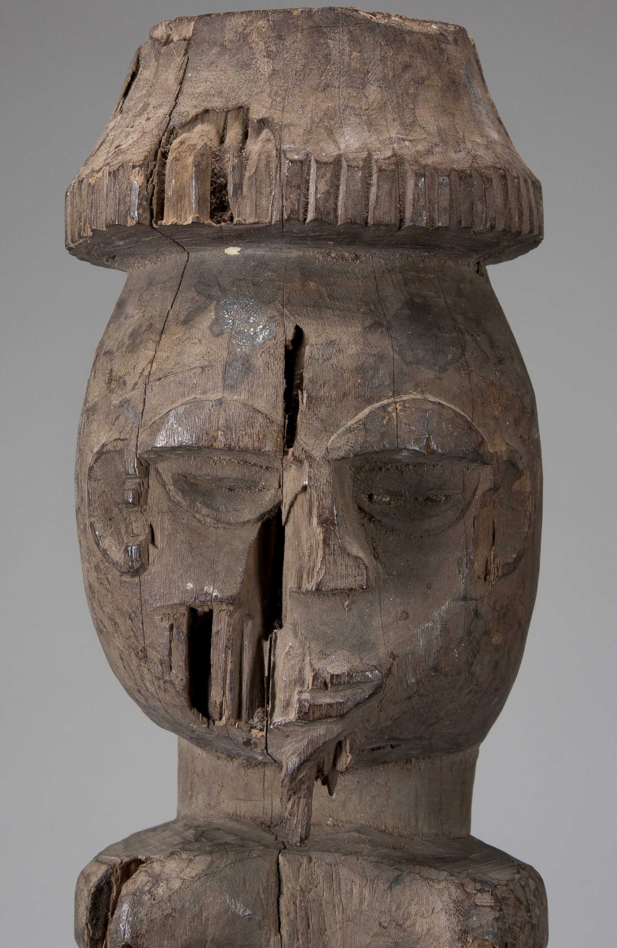 An Eroded Oron Figure