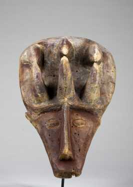 An unusual Igala mask