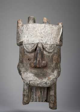 A fine and rare Ijo Hippo mask