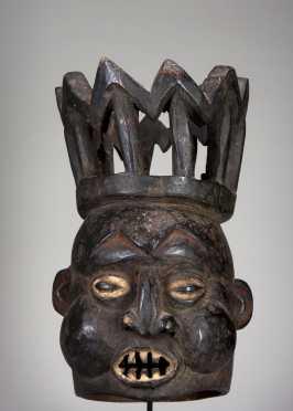 A fine Bamileke mask