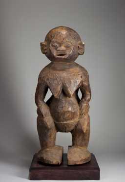A superb Bamileke figure