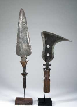 Two Congolese weapons