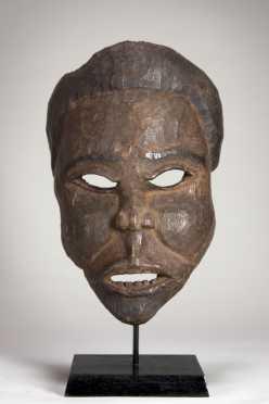 A fine Bakongo mask - Manyanga subgroup