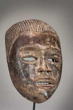 An expressive Bakongo mask