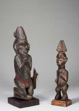 Two Yaka figures