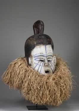 A Suku initiation mask