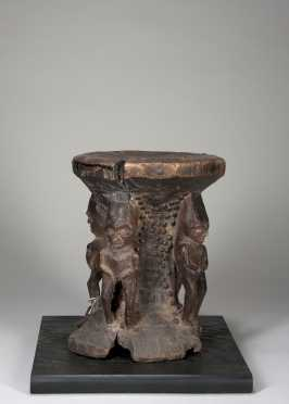 A fine and rare Pende stool
