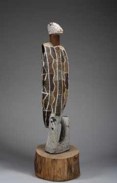 An Australian Aboriginal carving of a Bird