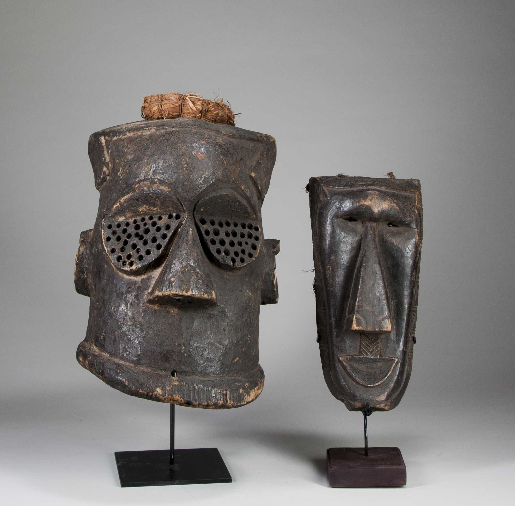 Two Kuba Masks