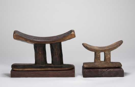Two African Neckrests
