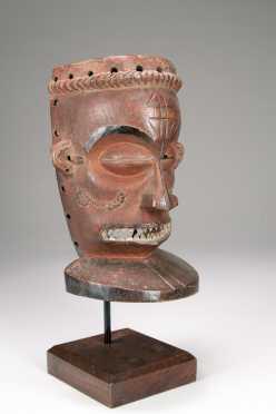 A fine Chokwe Chihongo mask