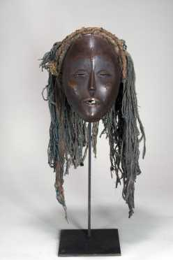 An Mbunda female mask