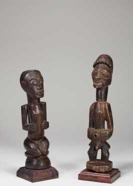 Two Songye figurines