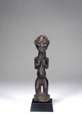 A Luba figurine