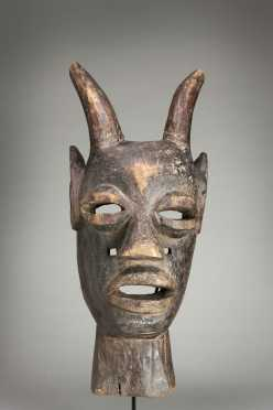 An unusual Eastern Congolese mask
