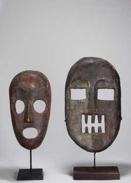 Two Kumu masks