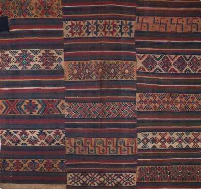 A fine Tibetan textile