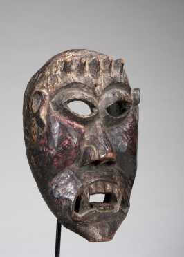 A superb Darmapala Mask -  Protectorate of the Buddhist Faith