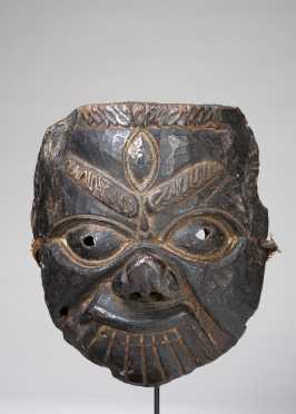 A Dorje Drolog mask